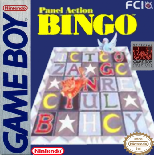 Panel Action Bingo Nintendo Game Boy cover artwork