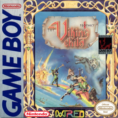 Prophecy - The Viking Child Nintendo Game Boy cover artwork