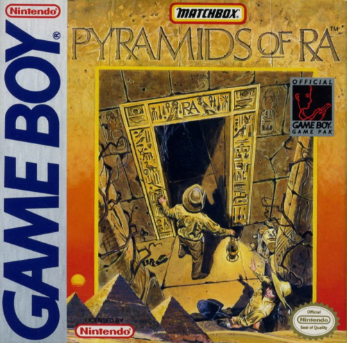 Pyramids of Ra Nintendo Game Boy cover artwork