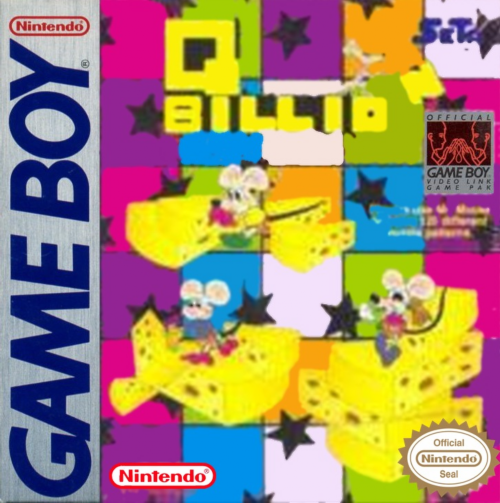 Q Billion Nintendo Game Boy cover artwork