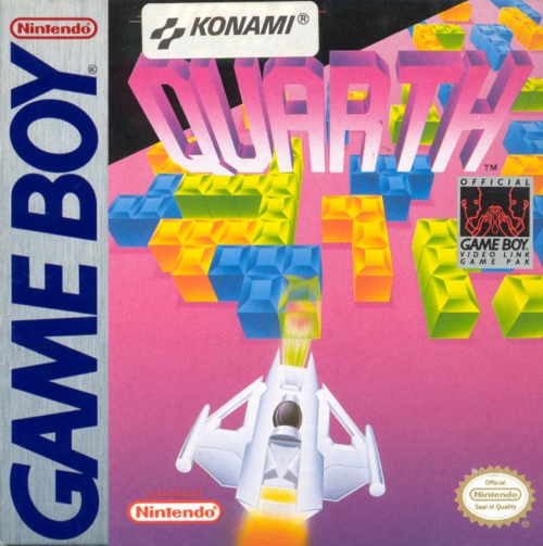 Quarth Nintendo Game Boy cover artwork