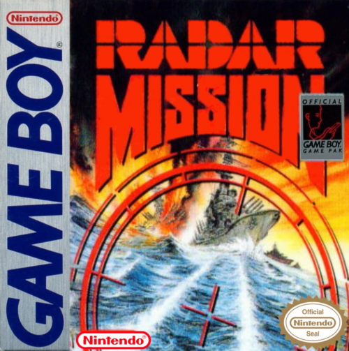 Radar Mission Nintendo Game Boy cover artwork