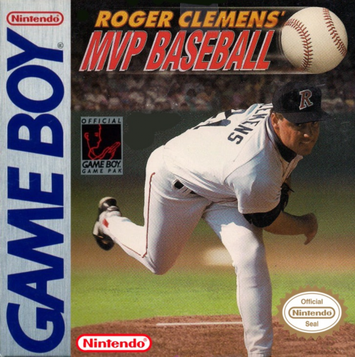 Roger Clemens' MVP Baseball Nintendo Game Boy cover artwork