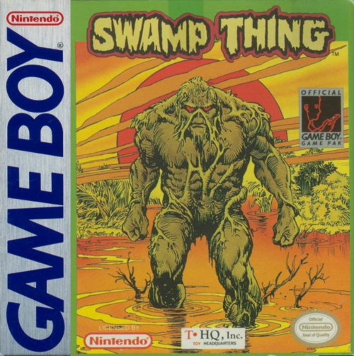 Swamp Thing Nintendo Game Boy cover artwork