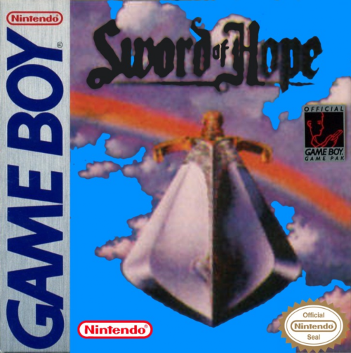 Sword of Hope II, The Nintendo Game Boy cover artwork