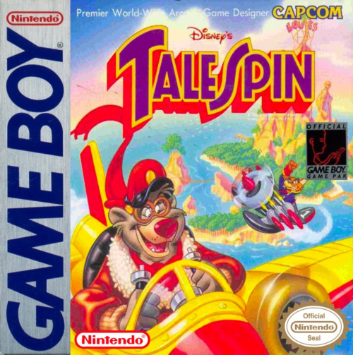 TaleSpin Nintendo Game Boy cover artwork