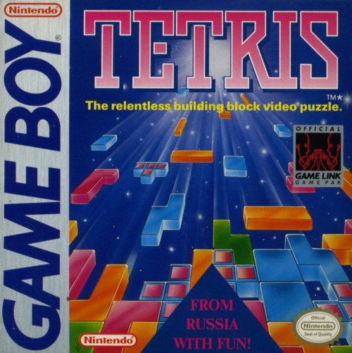 Tetris Nintendo Game Boy cover artwork