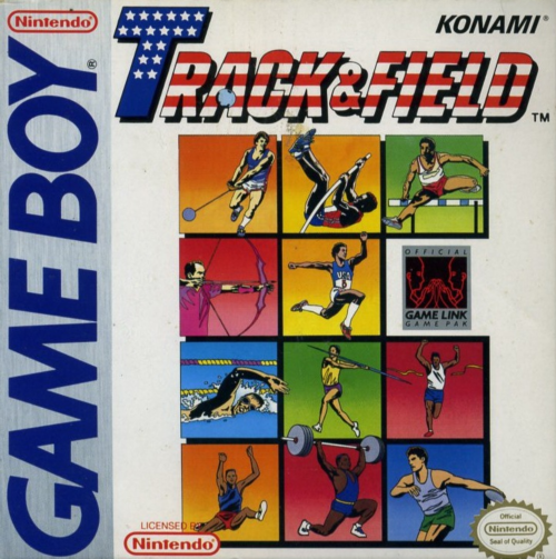Track & Field Nintendo Game Boy cover artwork