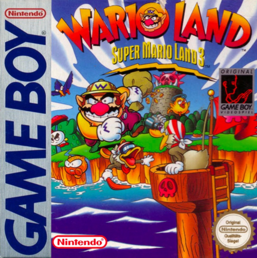 Wario Land - Super Mario Land 3 Nintendo Game Boy cover artwork