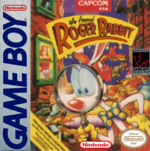 Who Framed Roger Rabbit Nintendo Game Boy cover artwork