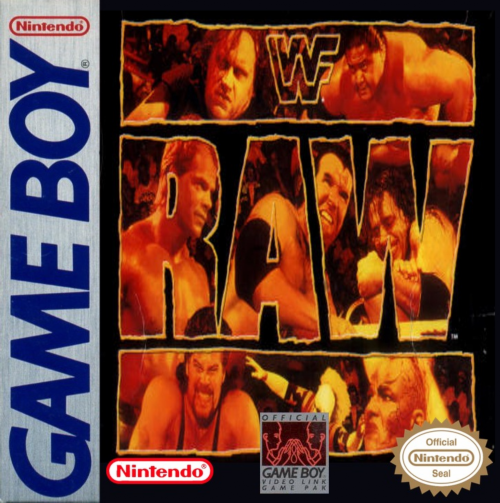 WWF Raw Nintendo Game Boy cover artwork