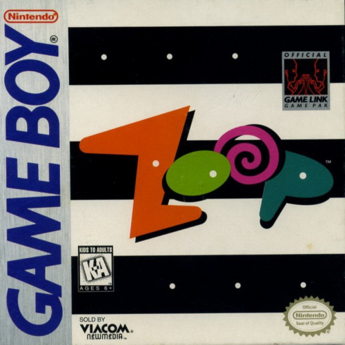 Zoop Nintendo Game Boy cover artwork