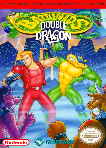 Battletoads-Double Dragon Nintendo NES cover artwork