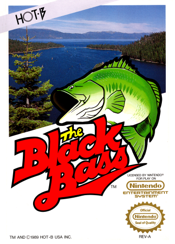 Black Bass, The Nintendo NES cover artwork