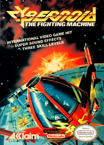 Cybernoid - The Fighting Machine Nintendo NES cover artwork