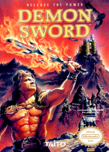 Demon Sword - Release the Power Nintendo NES cover artwork