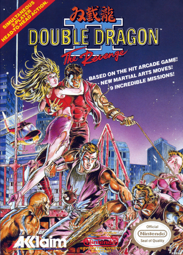 Double Dragon II - The Revenge Nintendo NES cover artwork