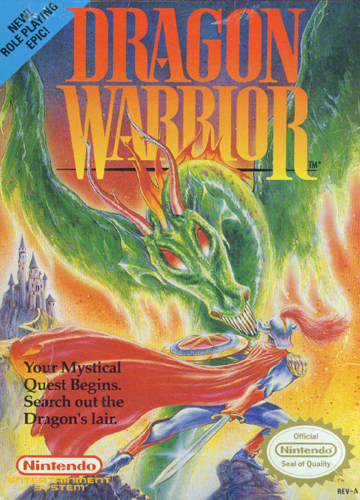 Dragon Warrior Nintendo NES cover artwork