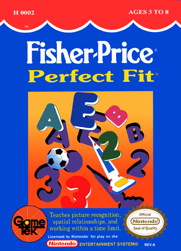 Fisher-Price - Perfect Fit Nintendo NES cover artwork