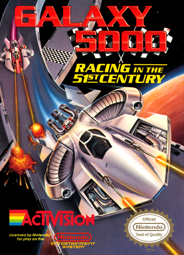 Galaxy 5000 Nintendo NES cover artwork