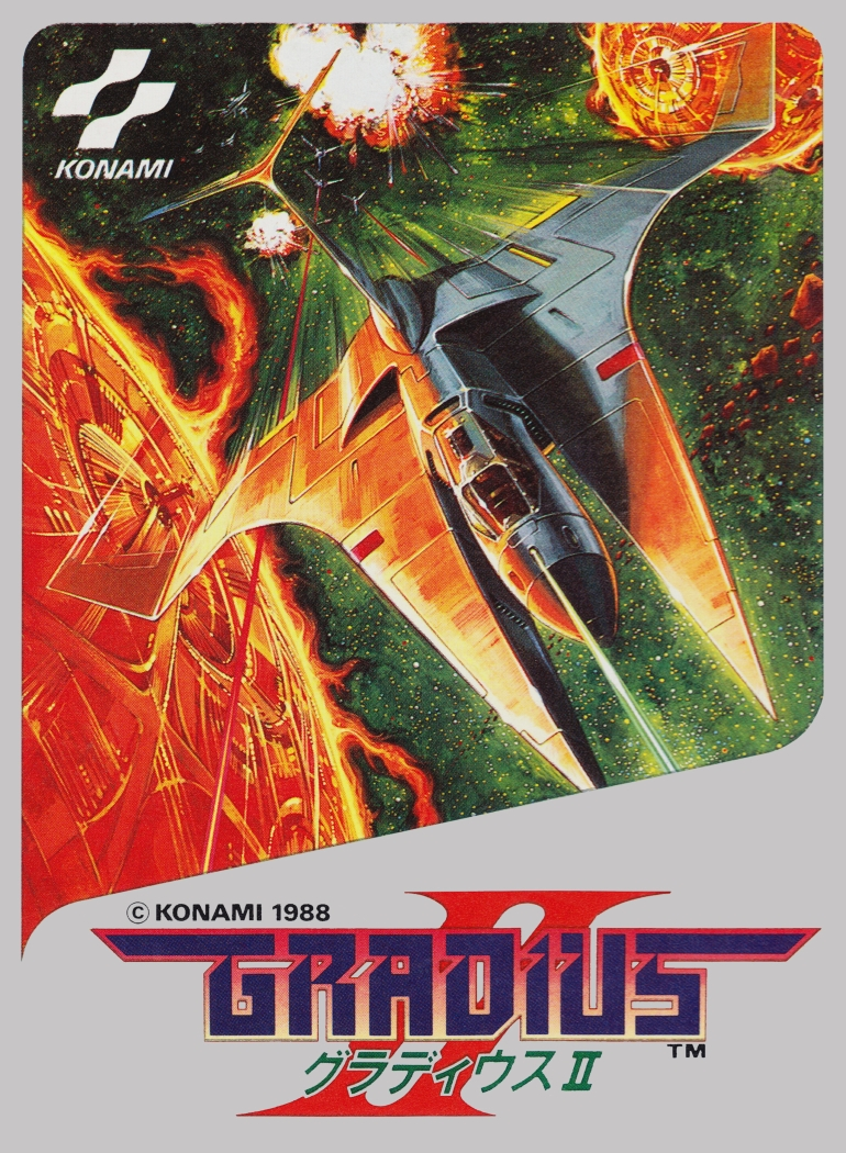 Gradius 2 Nintendo NES cover artwork