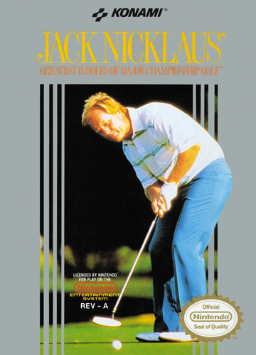 Jack Nicklaus' Greatest 18 Holes of Major Championship Golf Nintendo