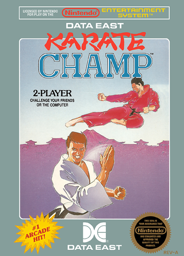 Karate Champ Nintendo NES cover artwork