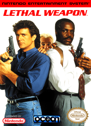 Lethal Weapon Nintendo NES cover artwork
