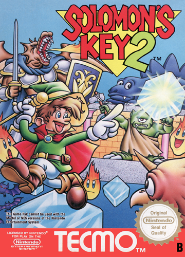 Solomon's Key 2 Nintendo NES cover artwork