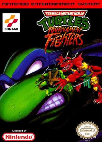 Teenage Mutant Ninja Turtles - Tournament Fighters Nintendo NES cover artwork