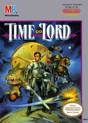 Time Lord Nintendo NES cover artwork
