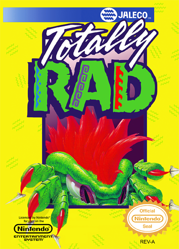 Totally Rad Nintendo NES cover artwork