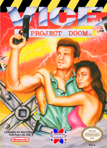 Vice - Project Doom Nintendo NES cover artwork