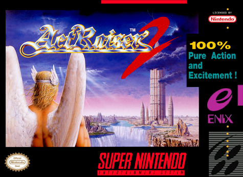 ActRaiser 2 Nintendo Super NES cover artwork