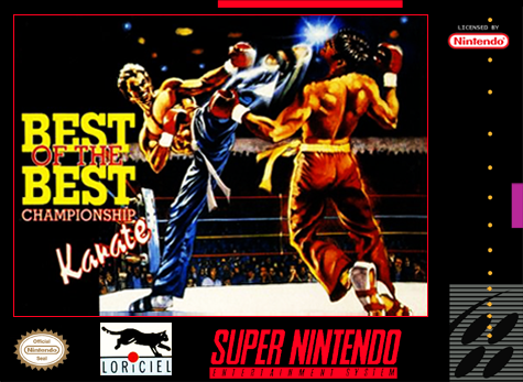 Best of the Best - Championship Karate Nintendo Super NES cover artwork