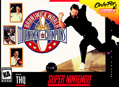 Brunswick World Tournament of Champions Nintendo Super NES cover artwork