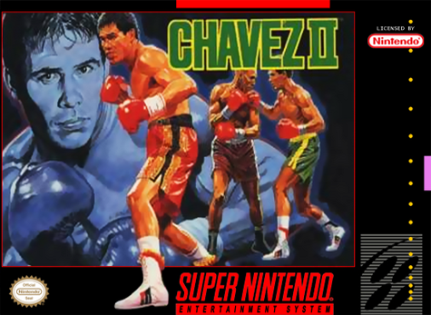 Chavez II Nintendo Super NES cover artwork