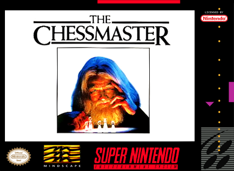 Chessmaster, The Nintendo Super NES cover artwork
