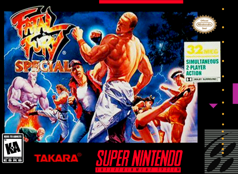 Fatal Fury Special Nintendo Super NES cover artwork