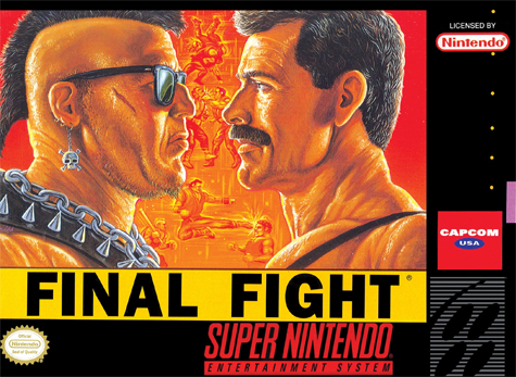 Final Fight Nintendo Super NES cover artwork