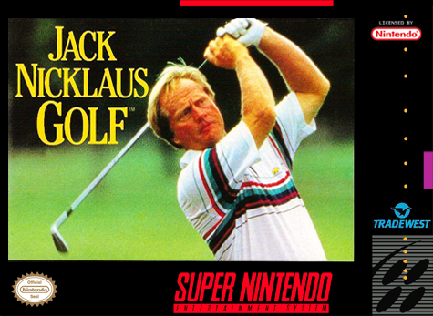 Jack Nicklaus Golf Nintendo Super NES cover artwork
