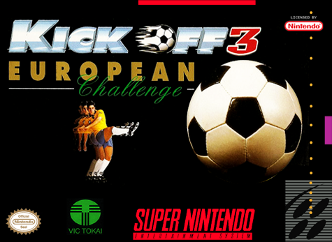 Kick Off 3 - European Challenge Nintendo Super NES cover artwork