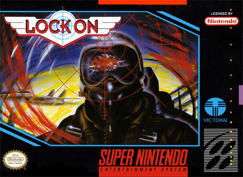 Lock On Nintendo Super NES cover artwork