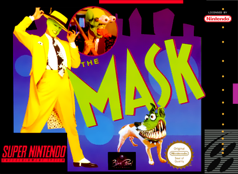 Mask, The Nintendo Super NES cover artwork
