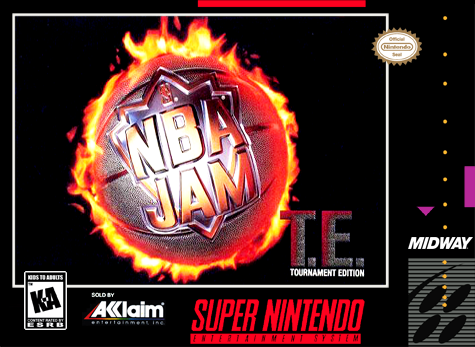 NBA Jam - Tournament Edition Nintendo Super NES cover artwork