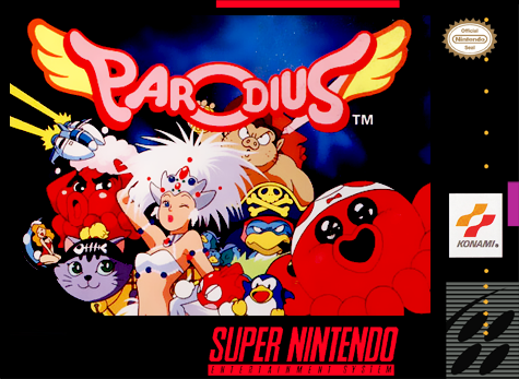 Parodius - Non-Sense Fantasy Nintendo Super NES cover artwork