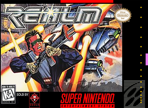 Realm Nintendo Super NES cover artwork
