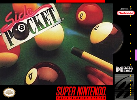 Side Pocket Nintendo Super NES cover artwork