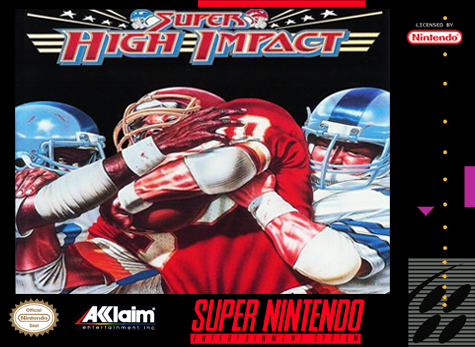 Super High Impact Nintendo Super NES cover artwork