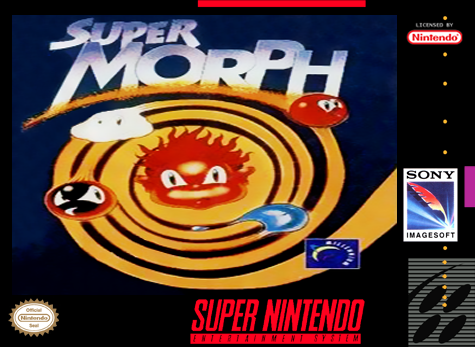 Super Morph Nintendo Super NES cover artwork